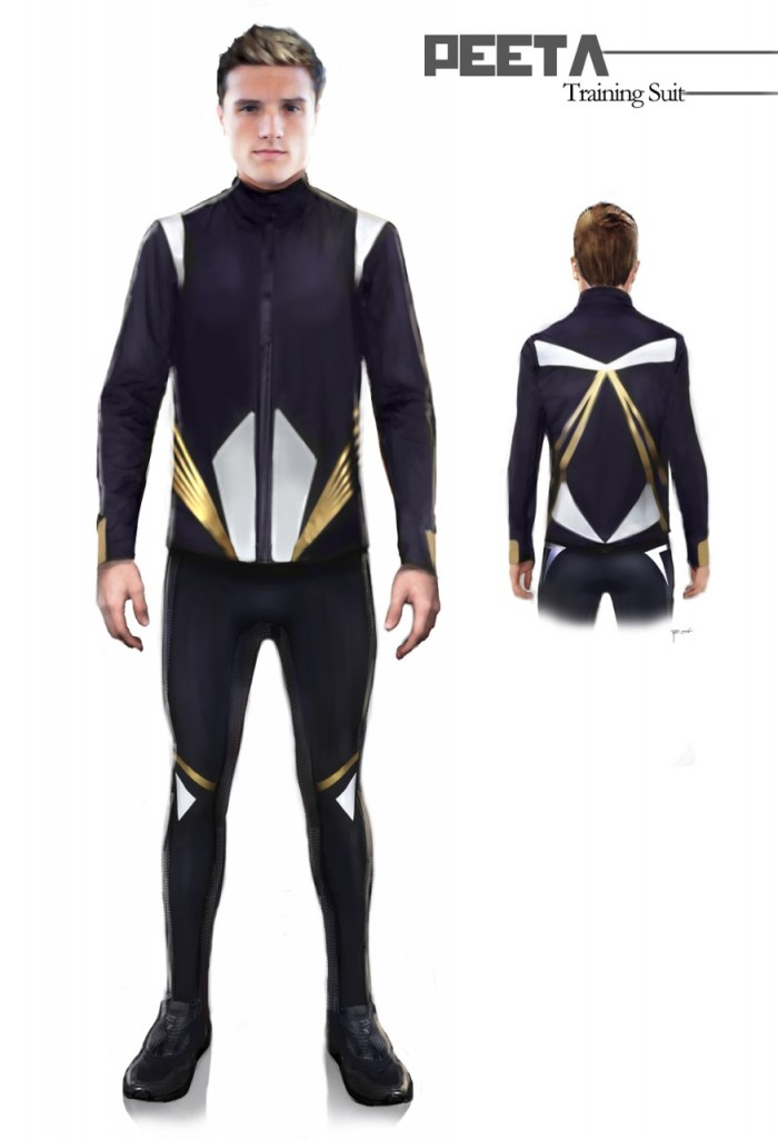 Costume Ilrations From Catching Fire