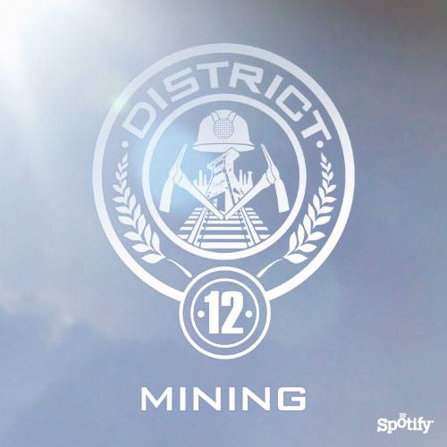 New District 12 Playlist On Spotify The Hunger Games News Panem