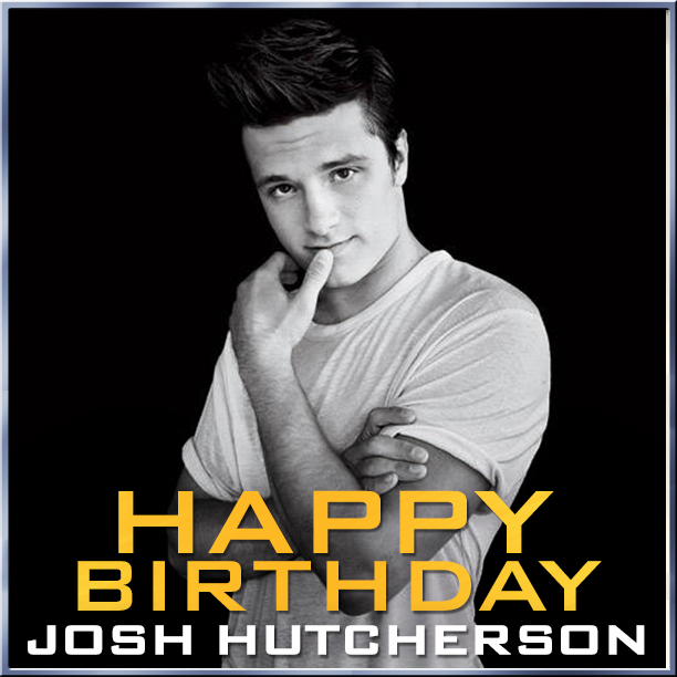 Happy Birthday Josh Hutcherson!
