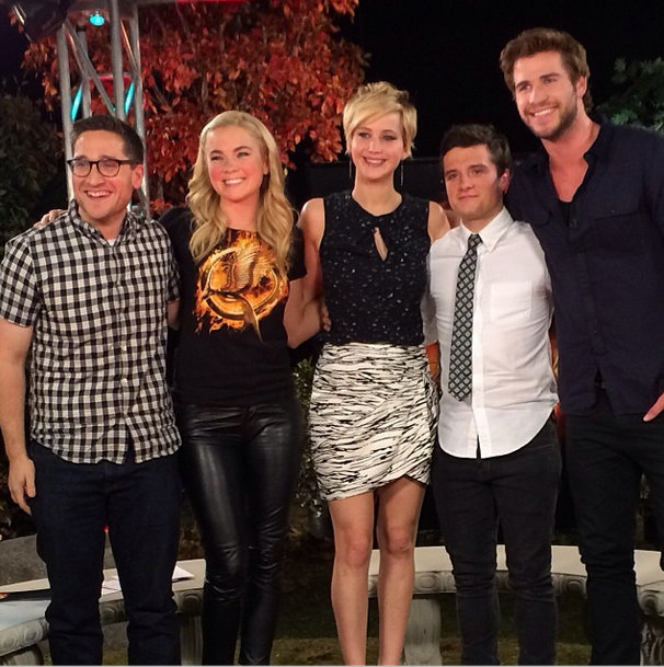 Jennifer Lawrence And Catching Fire Cast Will Answer Your