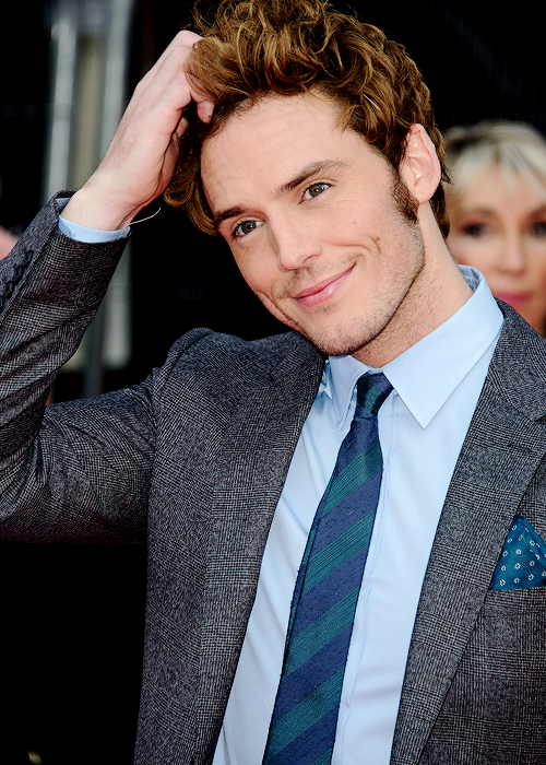 Sam Claflin at 'The Quiet Ones' Premiere in London - The ...