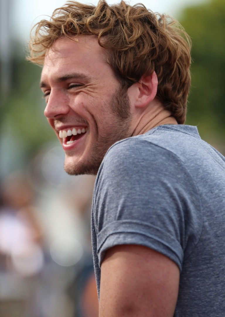 Sam Claflin Promotes 'The Quiet Ones' in Los Angeles - The ...