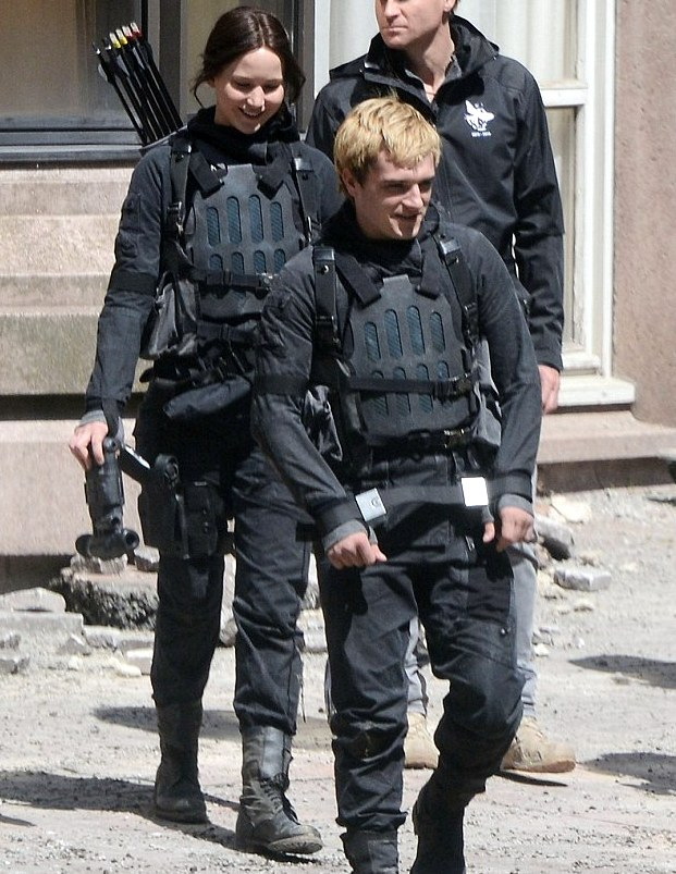 More From the Mockingjay Set in Paris! - The Hunger Games ...