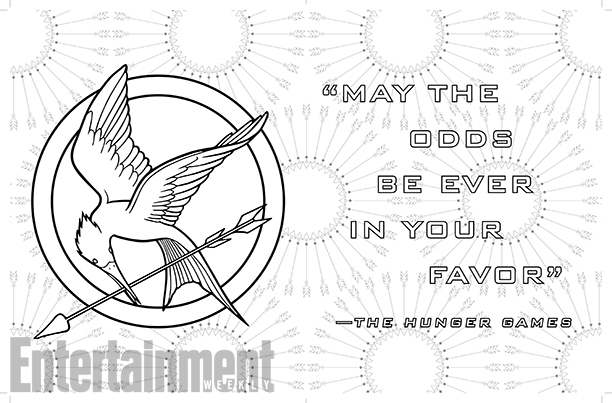 The World of the Hunger Games: The Official Coloring Book Is Here ...