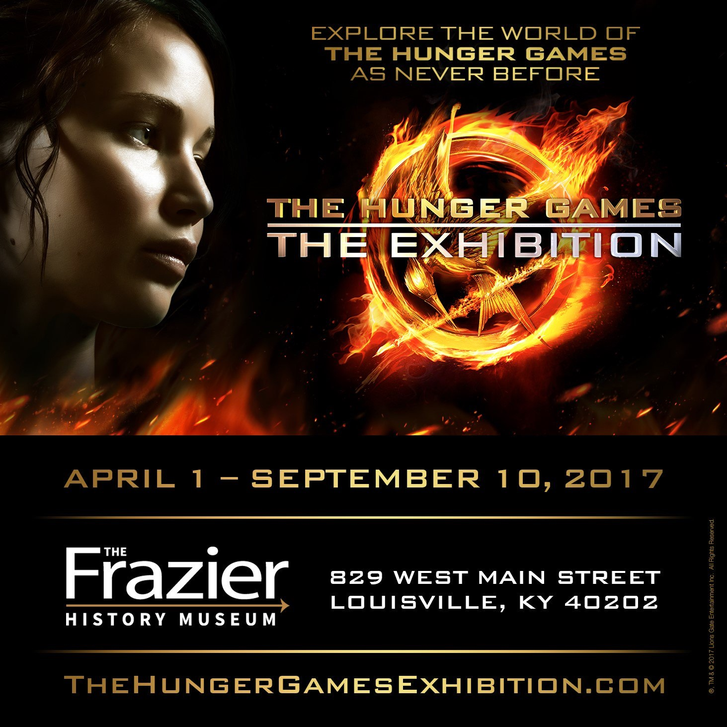 The Hunger Games Exhibition Announces Next Stop in Louisville, KY ...
