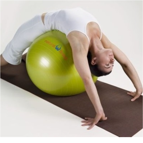 plyo ball stretch leslieville personal trainer