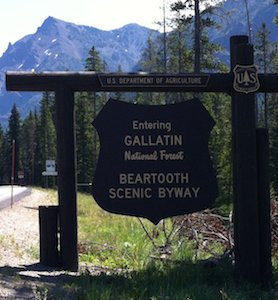 01 Beartooth Highway Sign sm