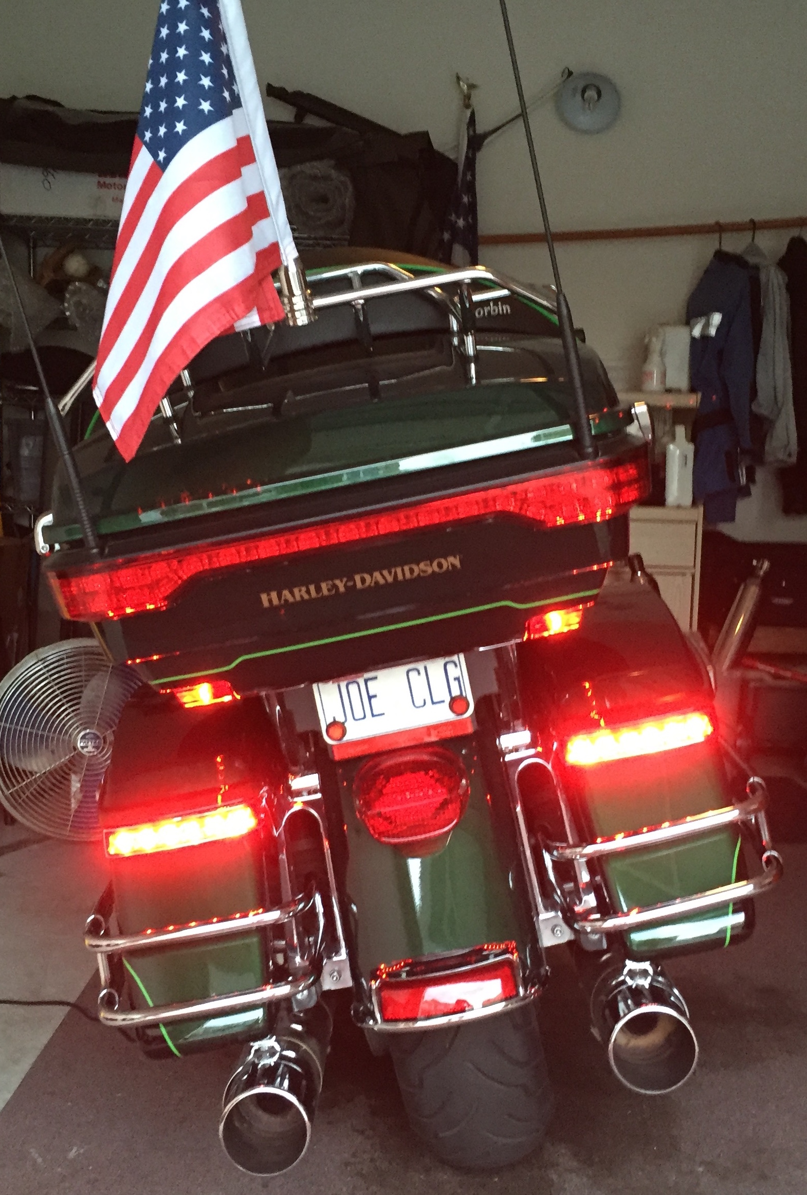 Motorcycle Christmas Lights