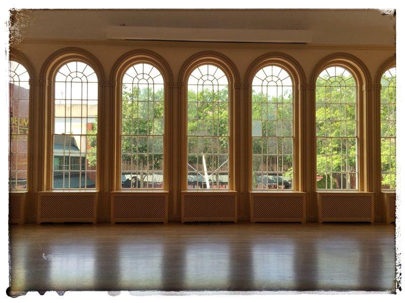 Katie hutchison studio house enthusiast design for Hall window design