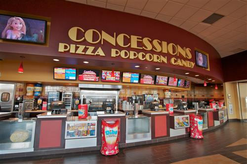 Image Gallery movie concessions