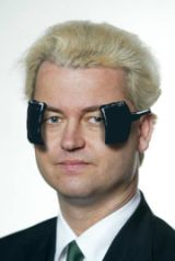 Dutch member of Parliament Geert Wilders at Carnaval