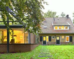 Uitbreiding oud huis: moderne keuken oud huis elementen om te