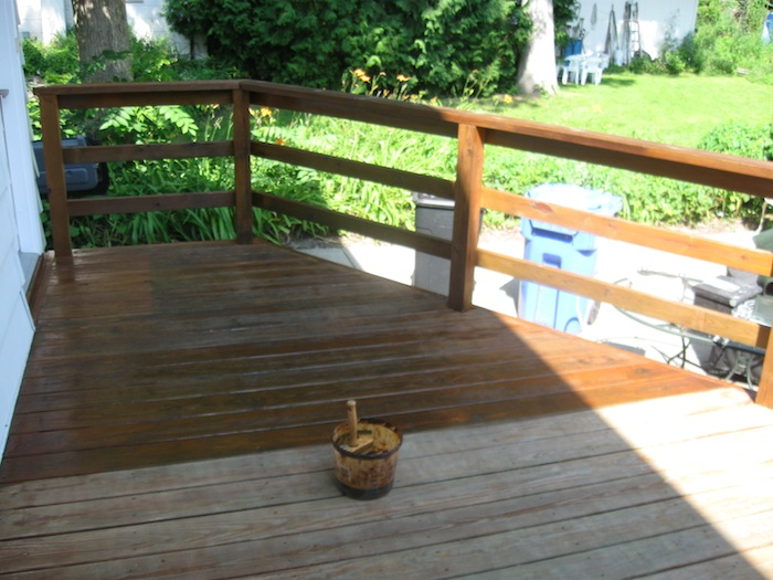 Eric Welch Painter S Blog How Is A Deck Refurbished