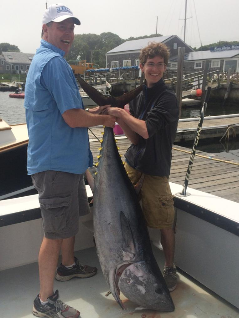Cape cod fishing charter bluefin tuna fishing striped for Cape cod fishing report