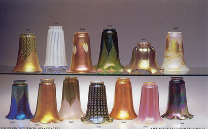 Art Nouveau Lamp Shades 2