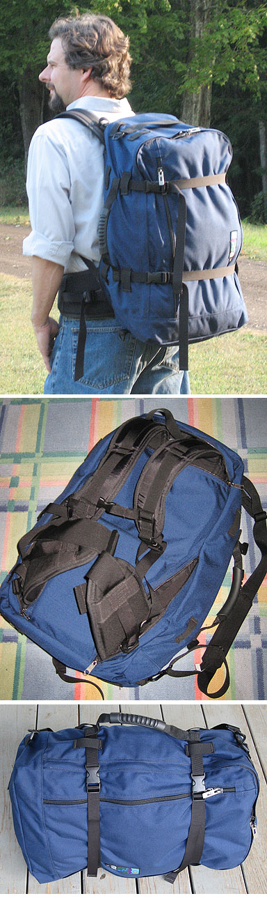 2f2ba47dc0 The Voyageur pack by MEI helped start the travelpack craze. Now  carryon-size packs and suitcases that sprout backpack straps are common.