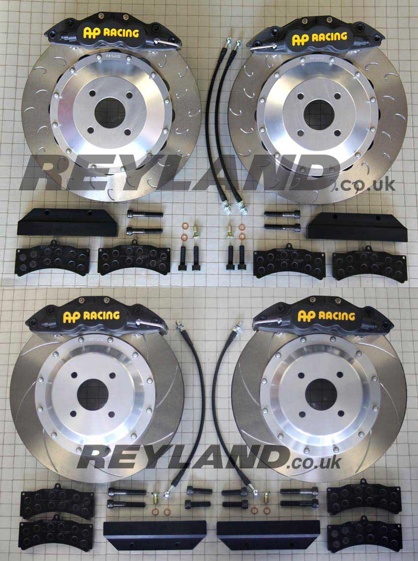 Reyland motorsport tuning rolling road high performance brakes and cosworth specialist 2wd cosworth front brake kits