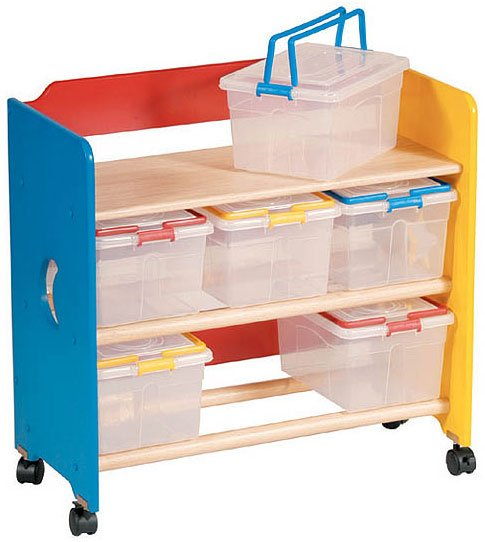 This Next Storage Idea Is A Real Winner, If You And Your Little One Love To  Get Crafty Then This Art Storage Unit Is Perfect! You Can Store Beads,  Paints, ...