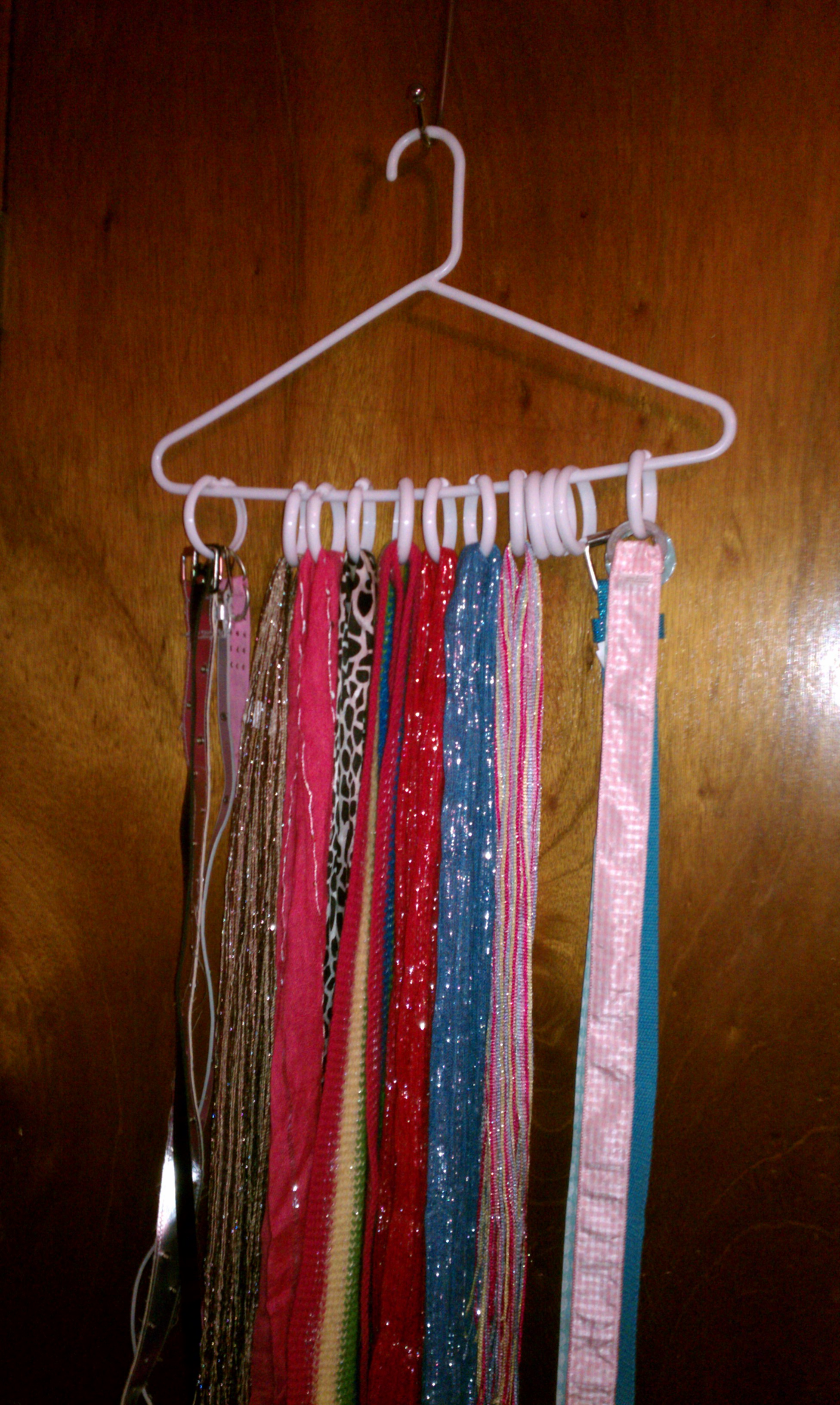 greatspaceorganizing tips scarves belts