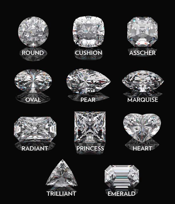 shape diamonds