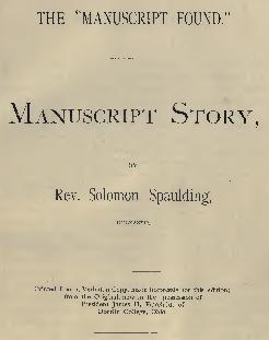Resultado de imagen de manuscrito spaulding