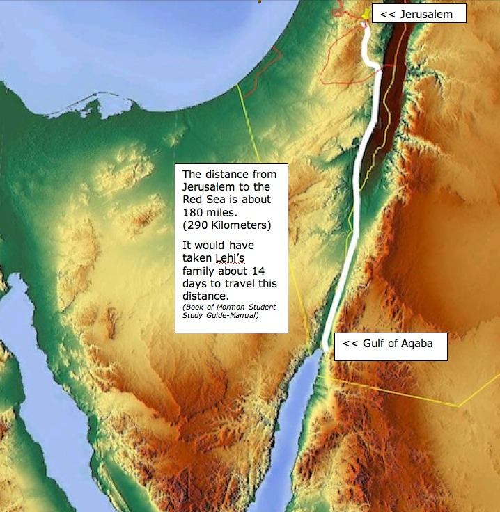 Archaeological And Historical Evidence Lehis Family Traveling - Where i have traveled map