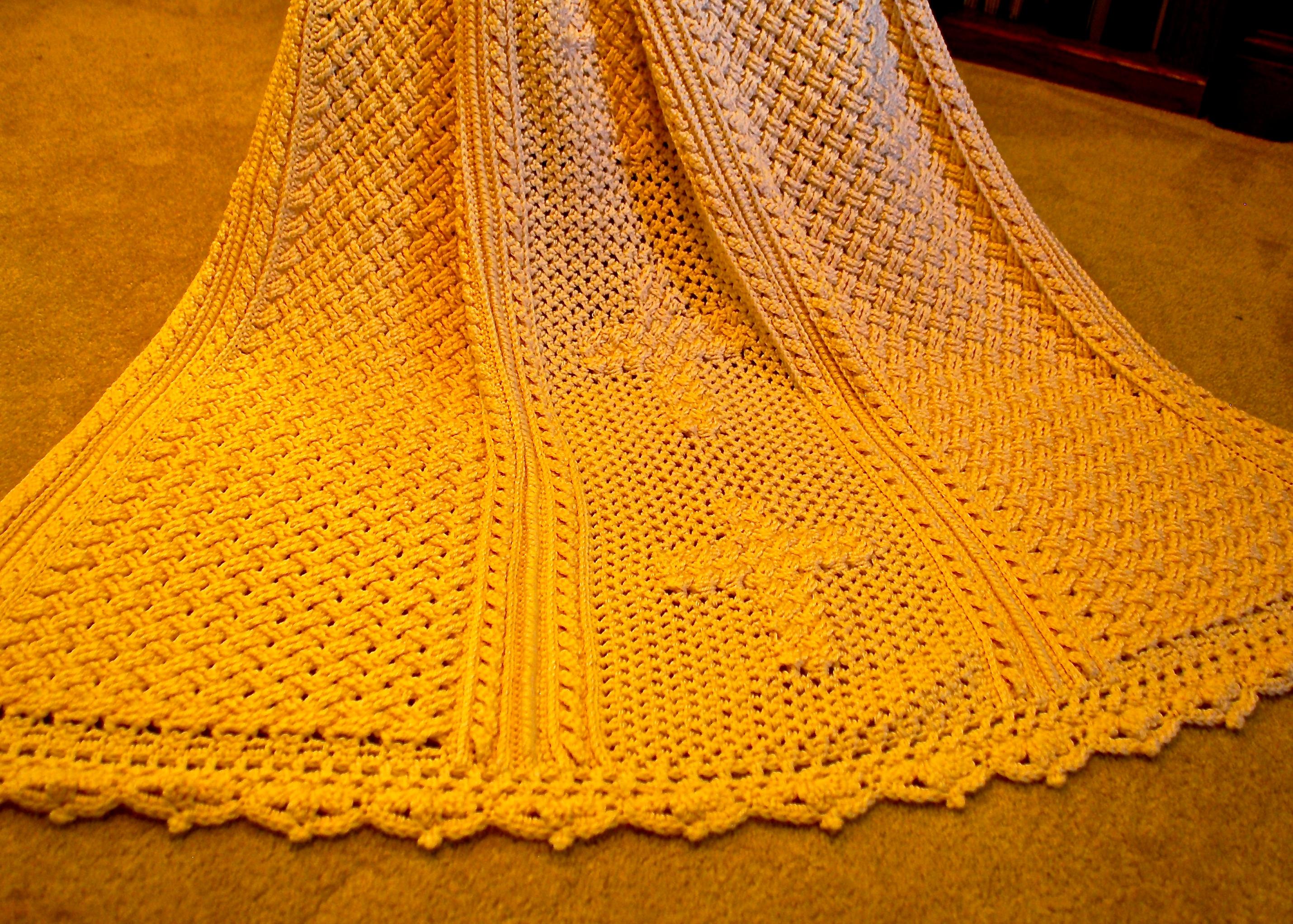 Bonnie Bay Crochet - Blog - The Celtic Cross Afghan and Pillow