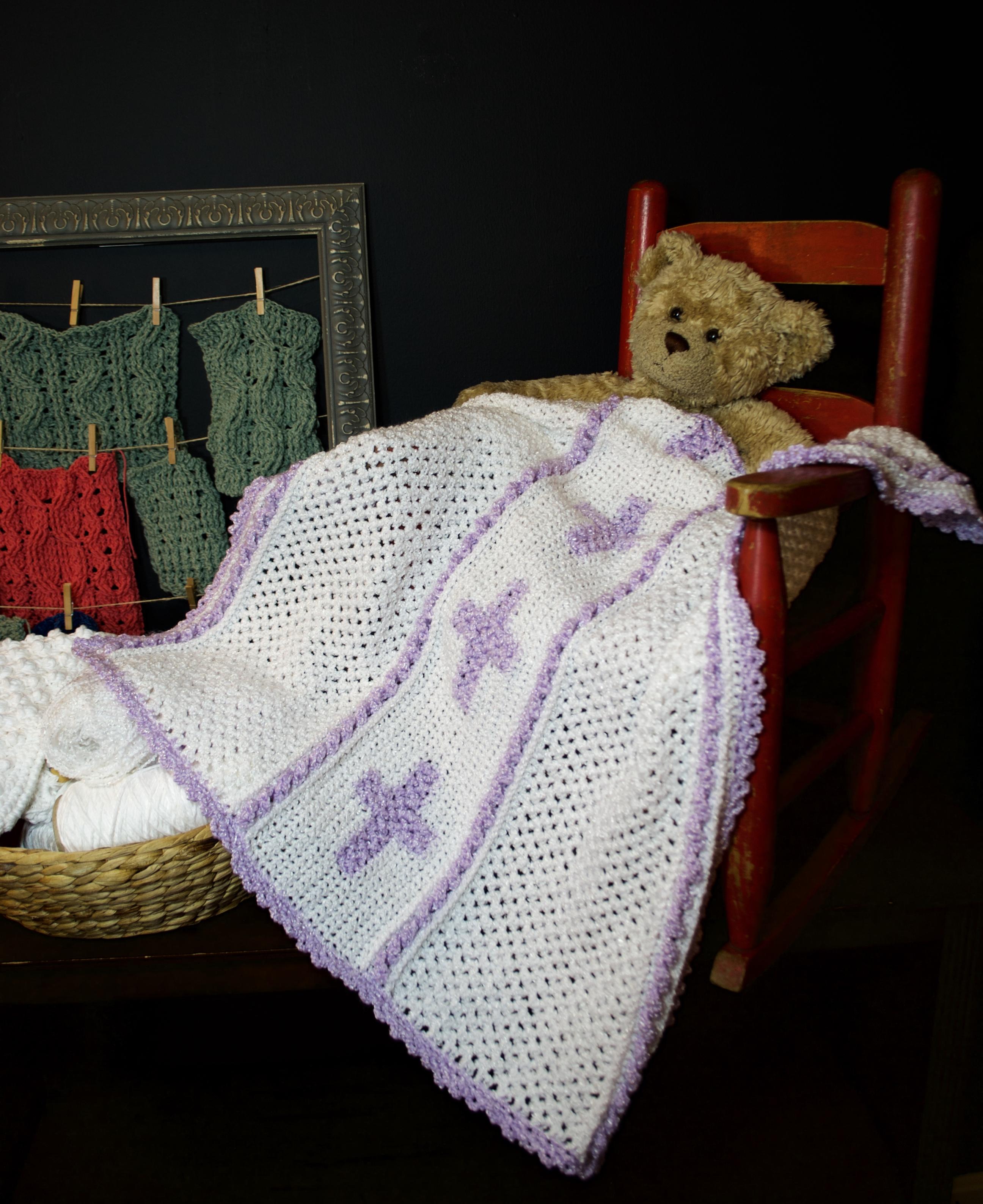 Bonnie Bay Crochet - Blog - NEW Ravelry Pattern: Celtic Cross Baby ...