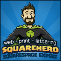 Squarehero: Squarespace Expert - Designer for the Web, Print and Comics Lettering