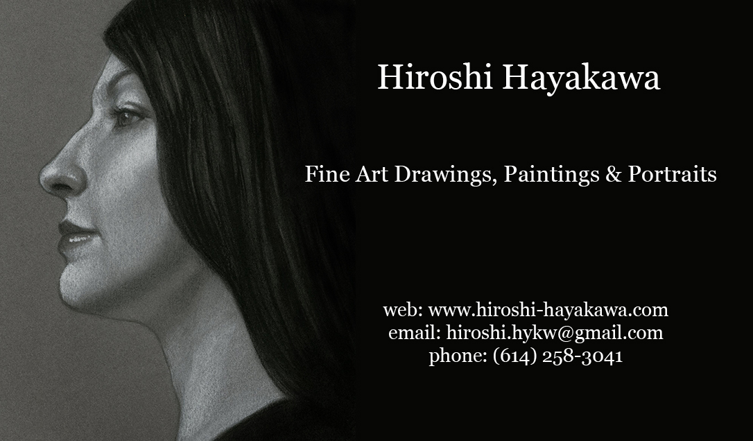 Hiroshi hayakawa blog business cards fine art business cards front colourmoves