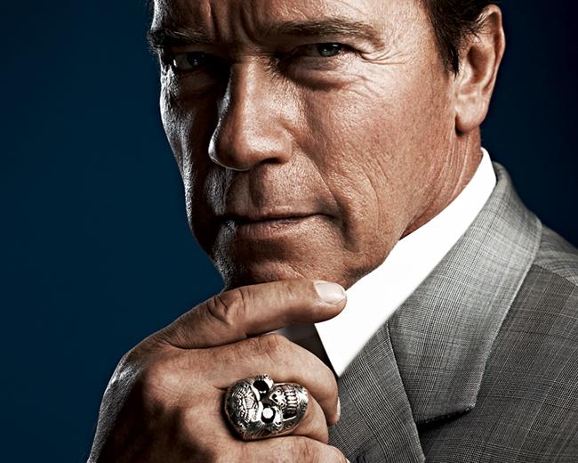 Thearnoldfans News Schwarzenegger S Ballsy Skull