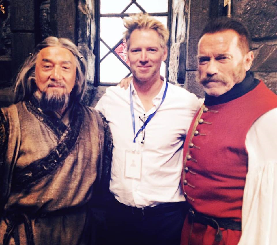 Schwarzenegger and Jackie Chan are shot in the Russian film Viy 2
