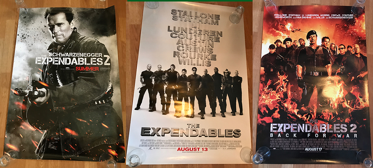 Expendables 2 Arnold As Trench Graded A Terminator 1 Posters And