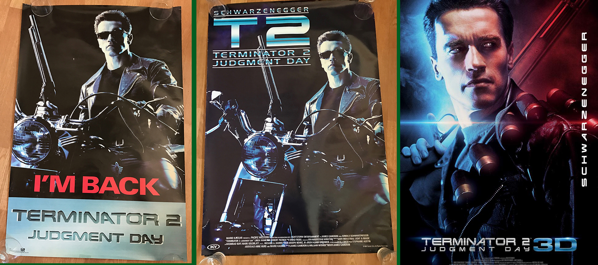 T2 In 3D Double Sided 2017 Release Graded A