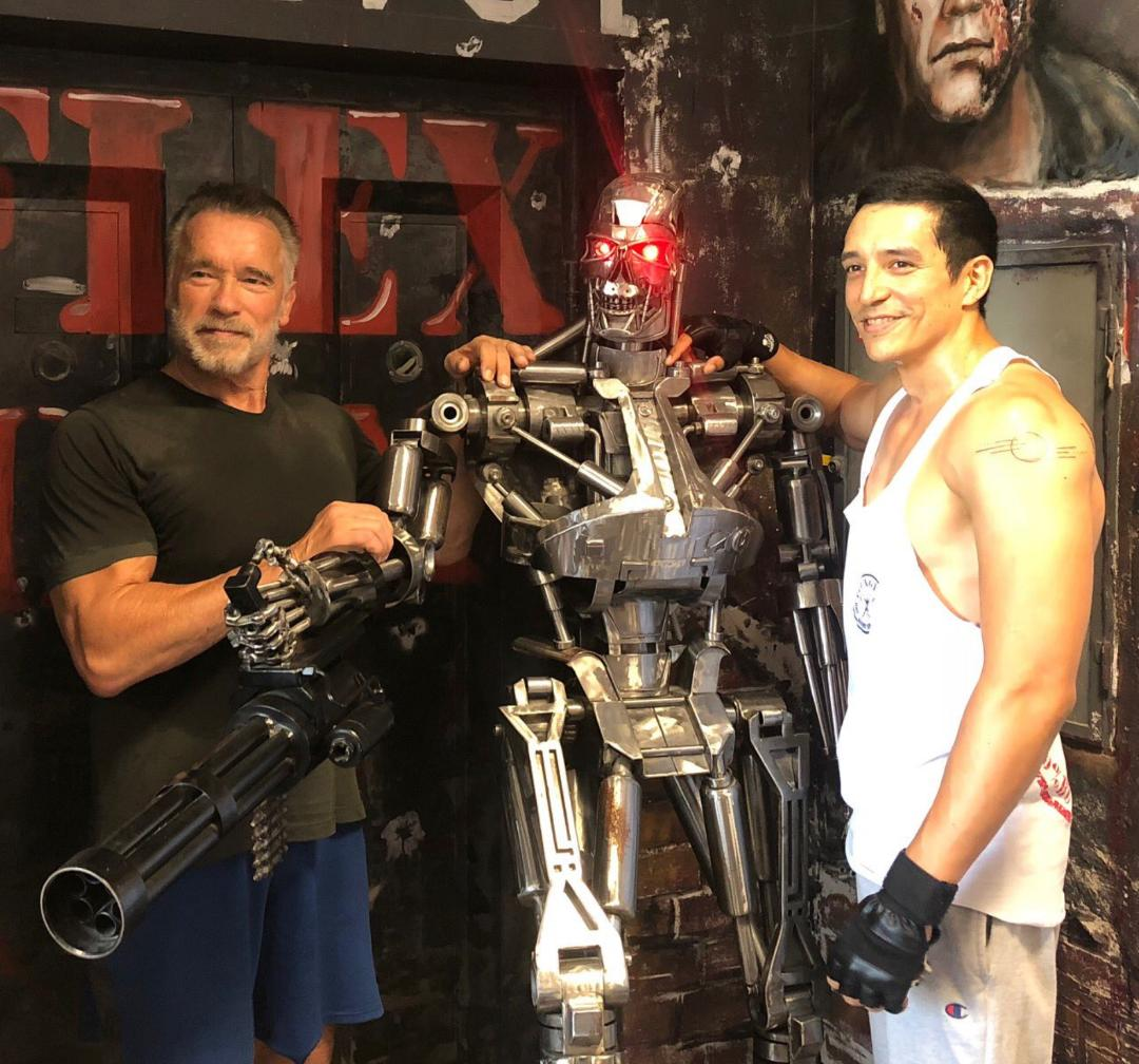 TheArnoldFans - News - Exclusive Interview with Terminator's Gabriel Luna!