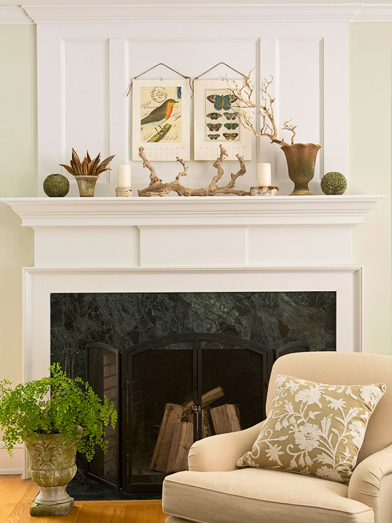 Andrea\'s Innovative Interiors - Andrea\'s Blog - Mantle Styling