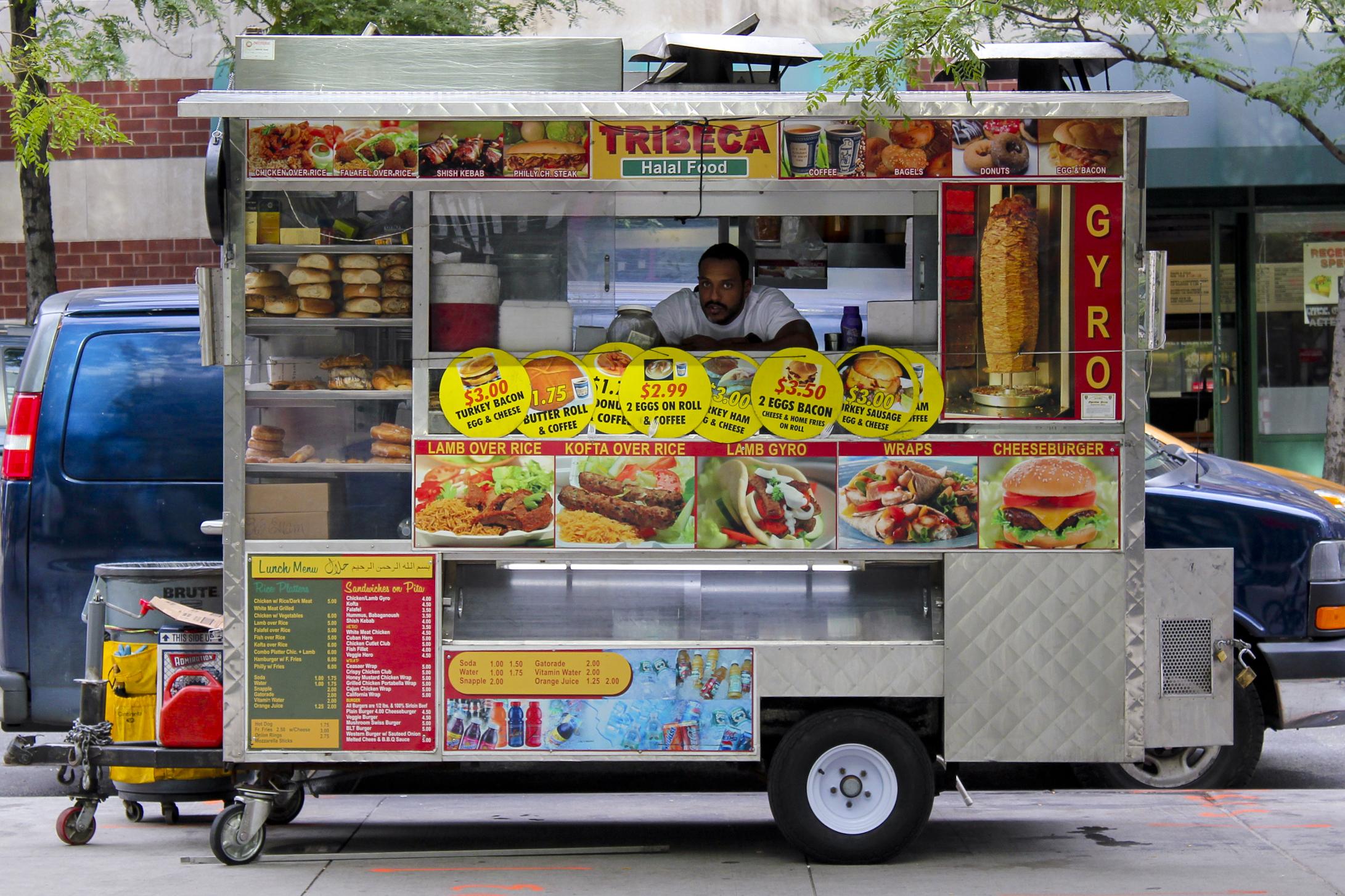 New York Halal Food Truck