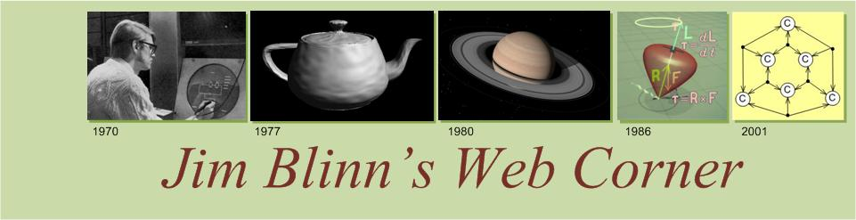 Jim Blinn's Web Corner