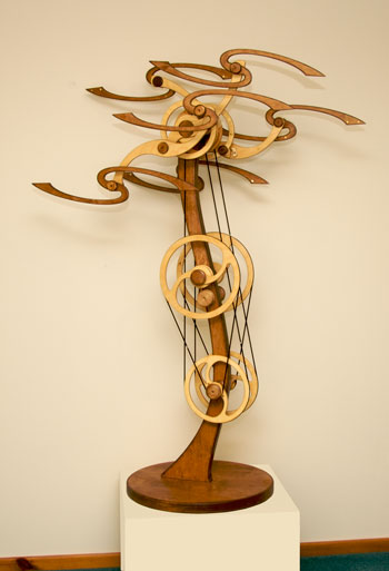 Kinetic Sculpture By David C Roy All Sculptures Wood