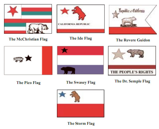 By 1911 However California Adopted A Version Of The Original Bear Flag To Represent Its Statehood At Behest Native Sons Golden West
