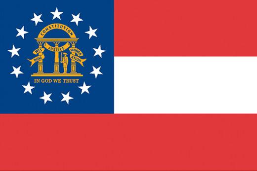 georgia state flag - photo #19