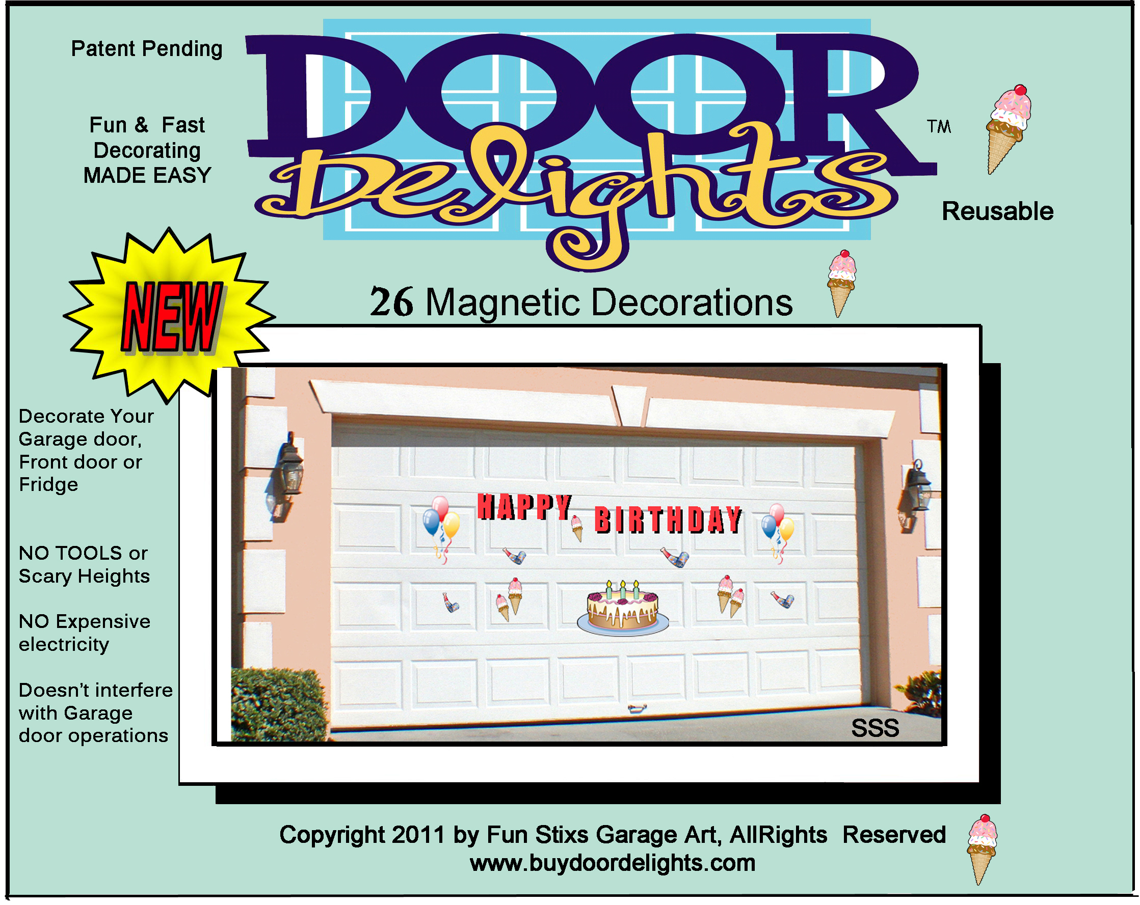 Door Delights Wants To Brighten Your Garage Door For Holidays And Special  Events