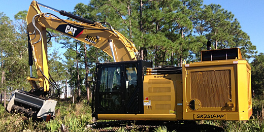Supertrak® - Forestry Mulcher, Land Clearing, Vegetation Mgt - SK350 PP