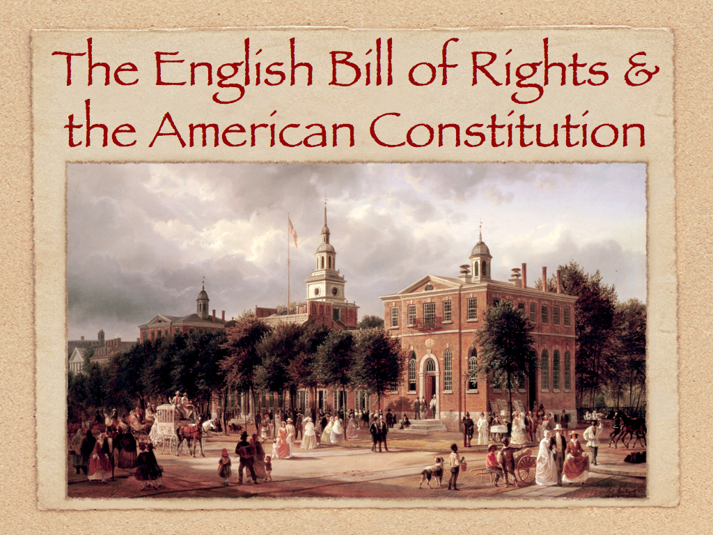 English bill of rights summary