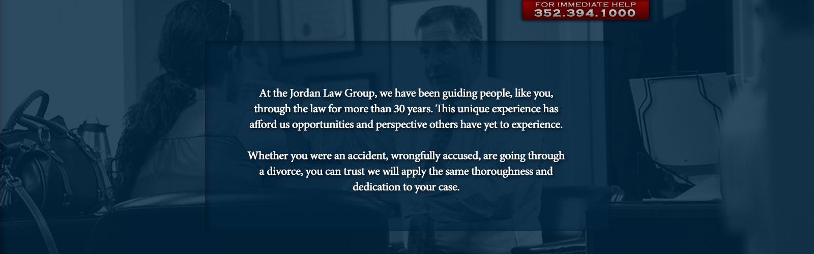 The jordan law group home for Integrity motors tavares fl
