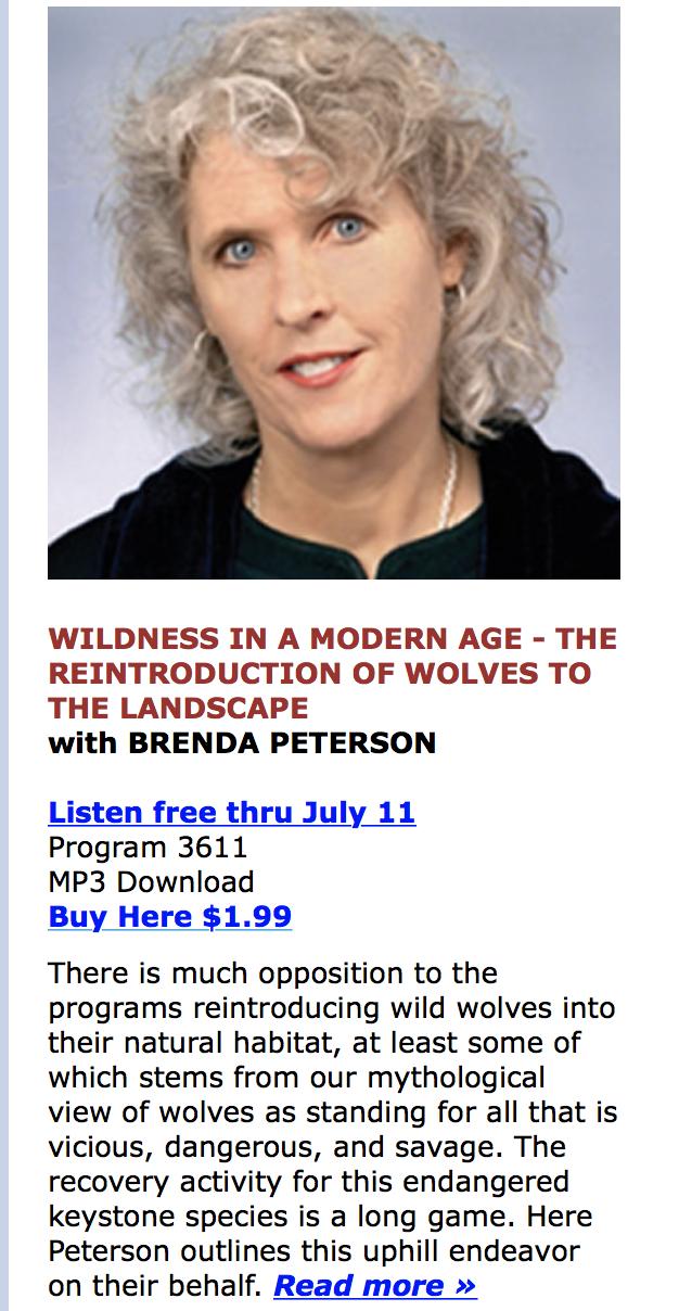 Wolf Nation - Brenda Peterson Books