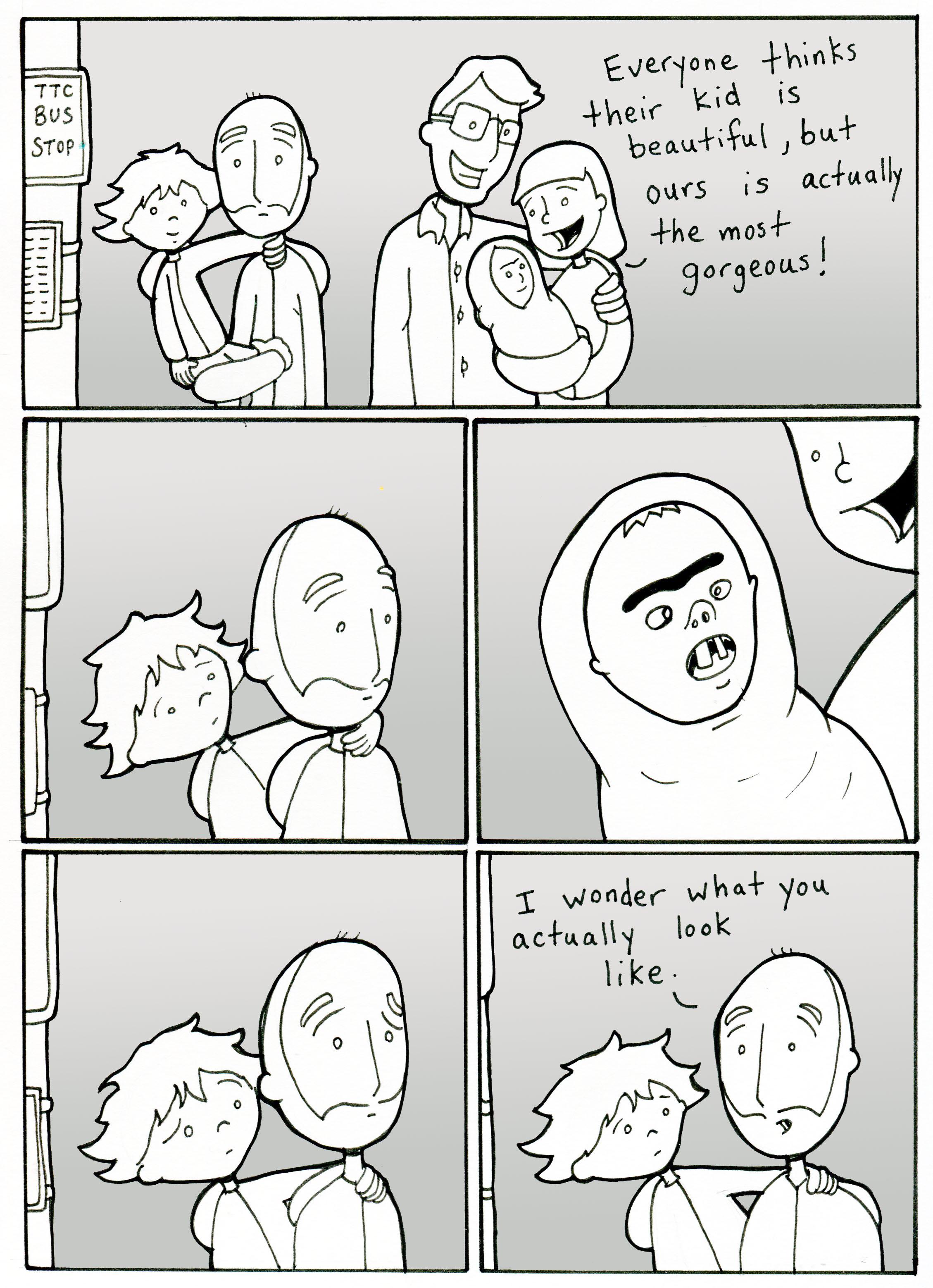 Lunarbaboon Comics Perception