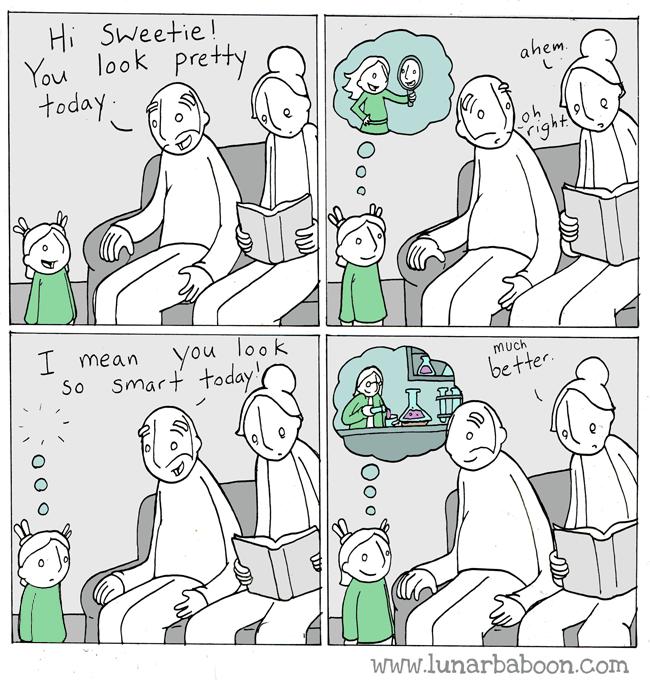 Du ser smart ut!