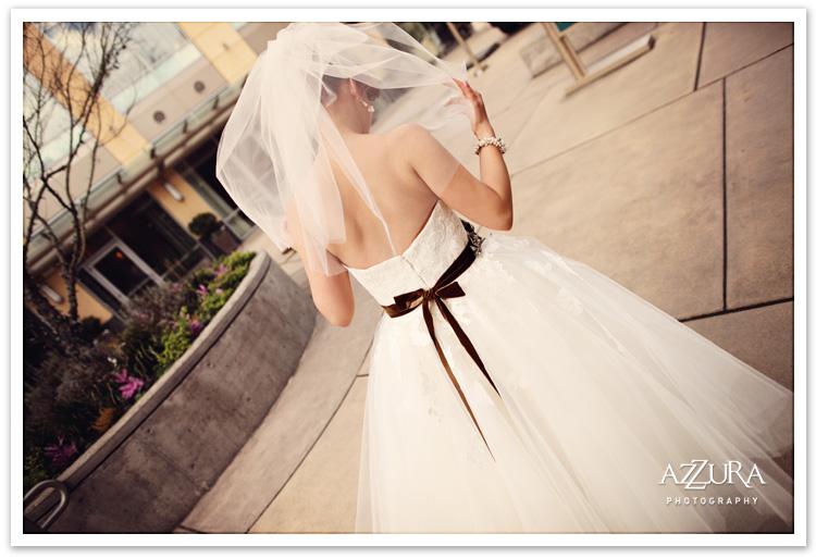 Wedding Dress from La Belle Elaine's
