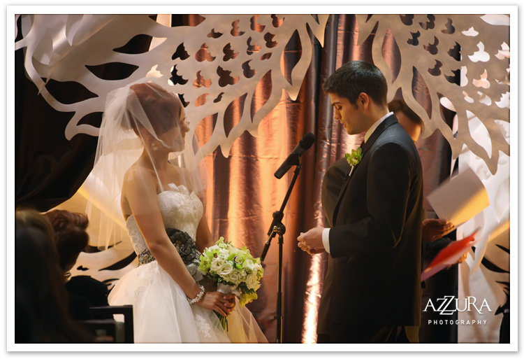 Wedding Ceremony at the Pan Pacific Seattle